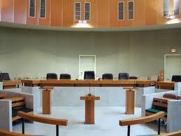 un tribunal vide