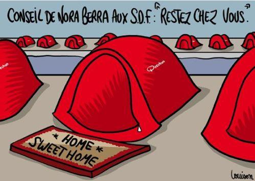 Tentes de SDF